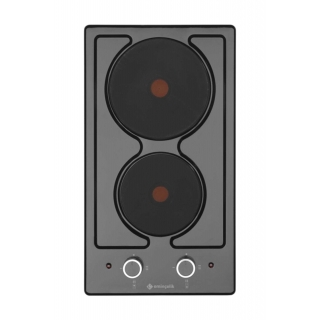Eminçelik EC-AH 4102 BE30 Siyah Emaye Ankastre Domino Ocak EC 200 41 242