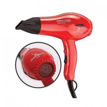 Hector Newyork TurboX5 Profesyonel 2400 Watt Saç Kurtma Makinesi - Kırmızı